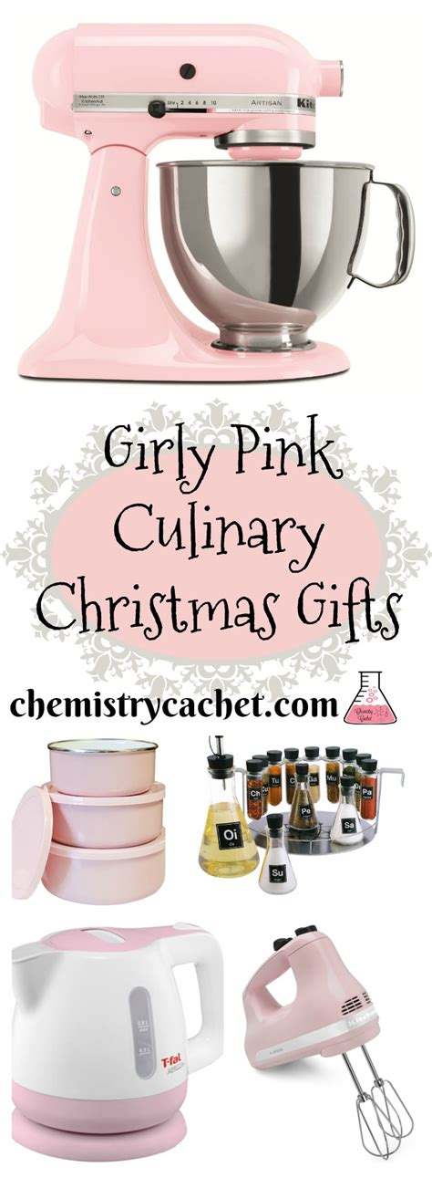 culinary girly pink christmas gift ideas perfect for any girl