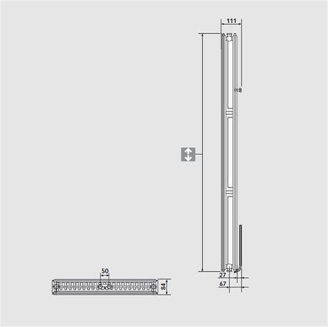Radiateur Design 2100 by Plan Vertical Hauteur 2100 Radiateur Eau Chaude Finimetal