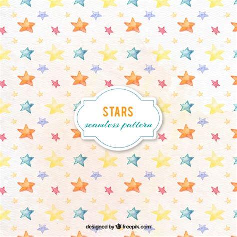 watercolor pattern vector pretty watercolor stars pattern vector free download