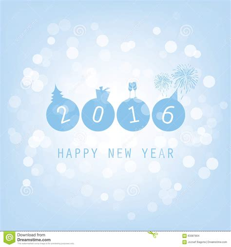 best new year card design new year card background 2016 stock photo image 63387904