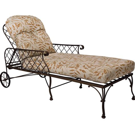 wrought iron patio chaise lounge houseofaura com wrought iron chaise lounge woodard