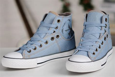 Sepatu Converse Denim Low 2013 new converse fashion ox retro light blue denim all