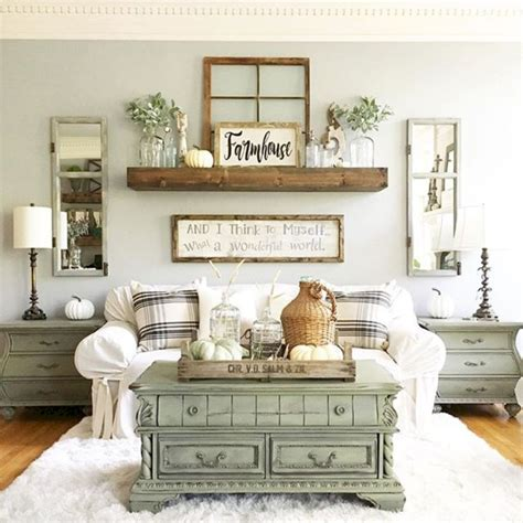 60 lasting farmhouse living room furniture and decor ideas livinking