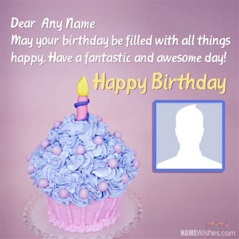 happy birthday wishes images with name photo wallpaper