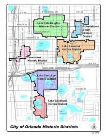 orange county florida zoning map historic preservation city of orlando city planning division