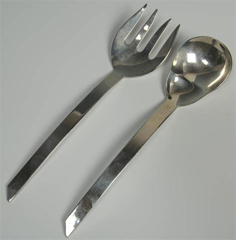 lot 484 6 mexican sterling silver serving pieces