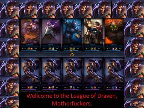 League Of Draven Meme - image 571113 draven s mustache league of draven