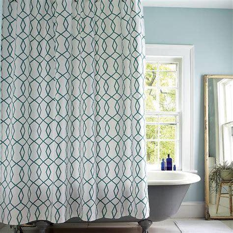 west elm shower curtains diamond links shower curtain west elm