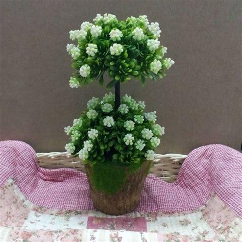 jual bunga bonsai susun  plastik  hiasan ruangan