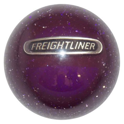 Glitter Shift Knob by Green Glitter Freightliner Shift Knob