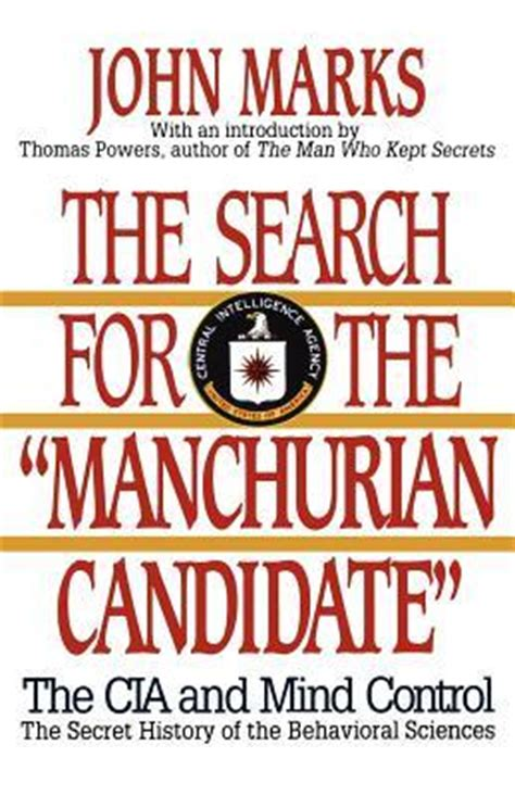 the candidate books the search for the manchurian candidate the cia mind