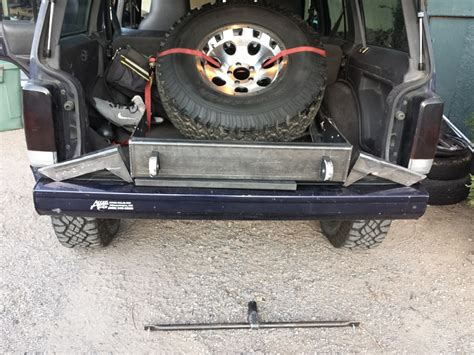 jeep xj stock bumper modified stock xj bumper jeep cherokee forum