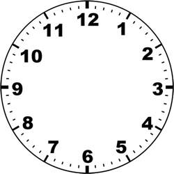 clockface template clock by missminded deviantart on deviantart
