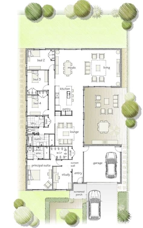 Best 10 Long Narrow Bedroom Ideas On Pinterest Long Narrow House Floor Plans Australia