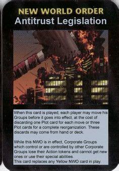 Illuminati Card Game Only Publish In 1995 Illuminati New World Order 2012