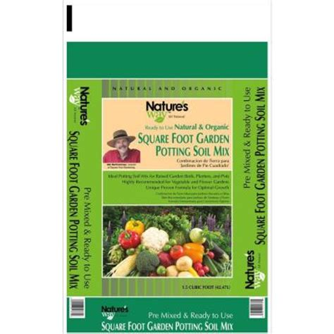 Square Foot Gardening Soil Mix by 1 5 Cu Ft Square Foot Gardening Potting Soil Mix Nw