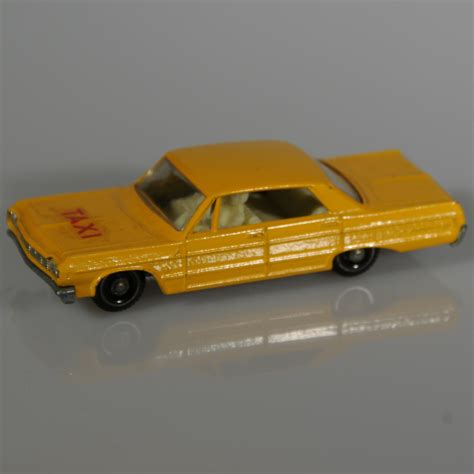 matchbox chevy impala lesney matchbox 20c chevrolet impala taxi 1965 from