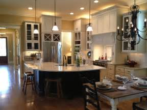 Kitchen And Dining Room Open Floor Plan by Kitchen Bar Open To Living Room My Favorite Picture