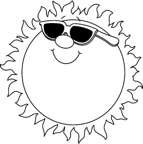 free clipart search free black and white clip summer search