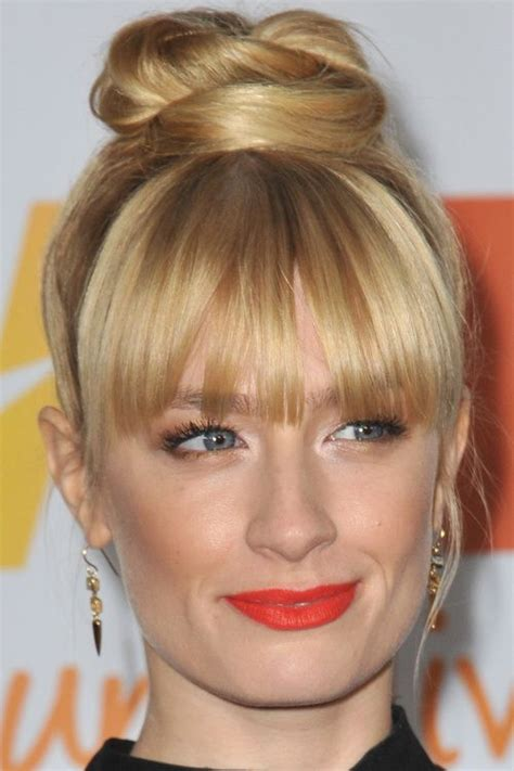 hairstyles with bangs and buns 1000 images about wedding hair and make up on pinterest