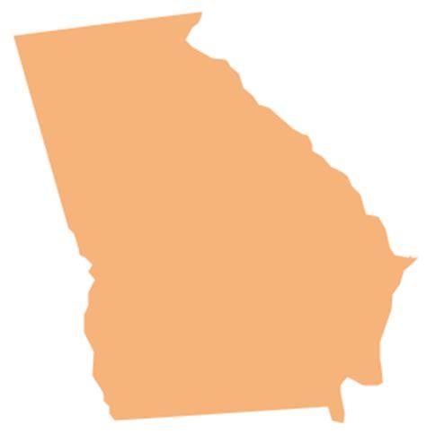geo map usa georgia