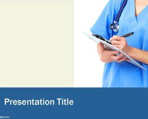 Nursing Powerpoint Template by Powerpoint Template