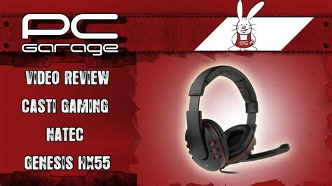casti pc garage pc garage review casti gaming natec genesis hx55
