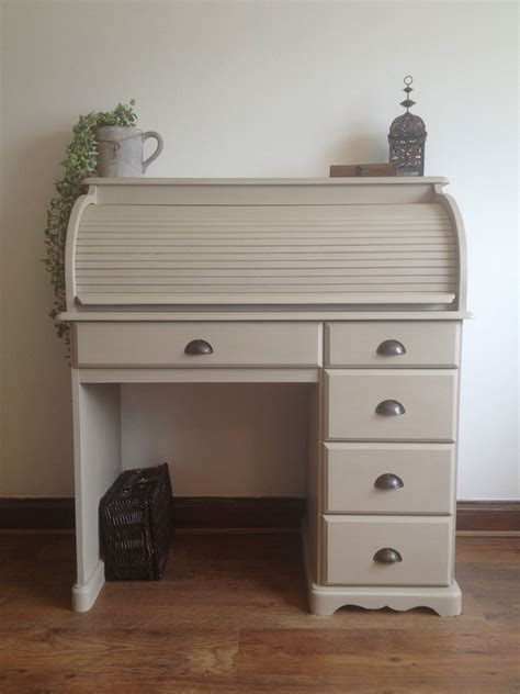 Sloan Desk by Stunning Shabby Chic Pine Roll Top Desk Painted Sloan Country Grey Sloan