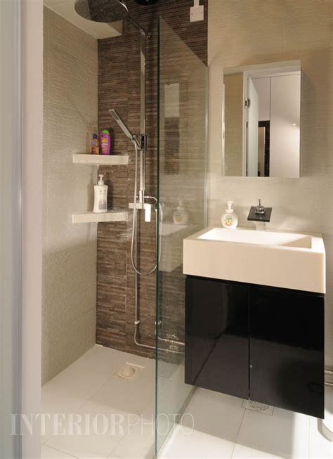 Modern Bathroom Design Singapore Cantonment 3 Rm Flat Interiorphoto Professional