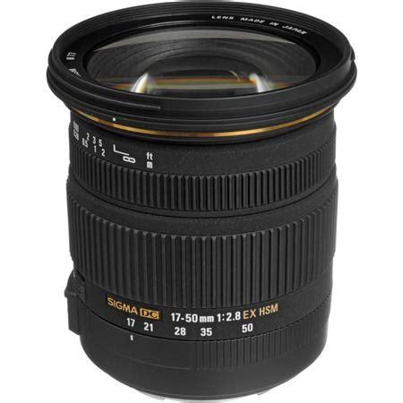 sigma 17mm 50mm f2.8 ex dc os hsm lens f/canon usa 583101