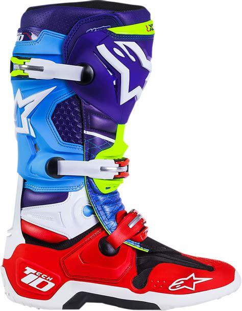 Sepatu Motocross Alpinestar Tech 10 alpinestars mens tech 10 limited edition venom offroad