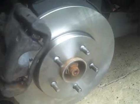 2004 jaguar x type 3.0,rear brakes/rotors replace youtube