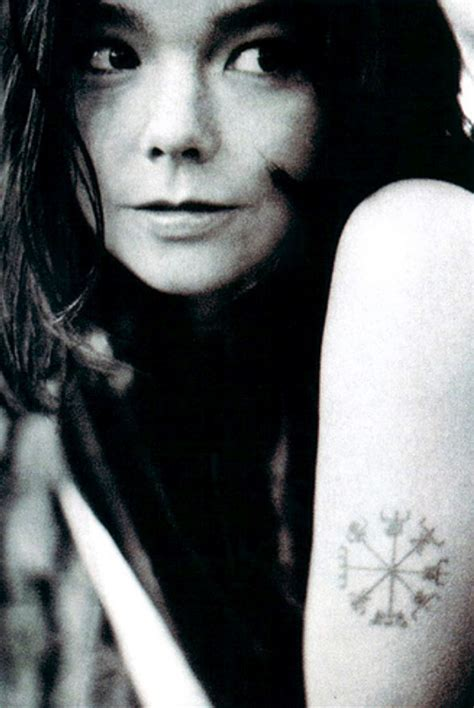 bjork tattoos pics photos of her tattoos