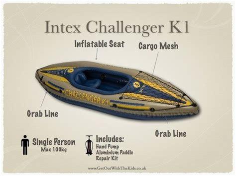 kayak intex challenger k1 intex challenger k1 kayak 1 person canoe