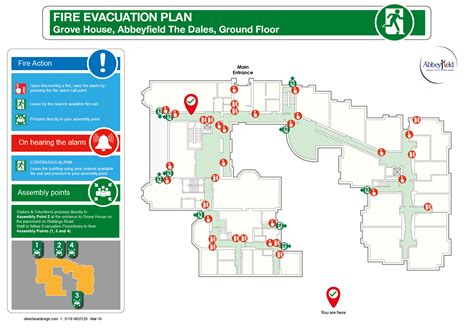 2d evacuation plans silverbear design