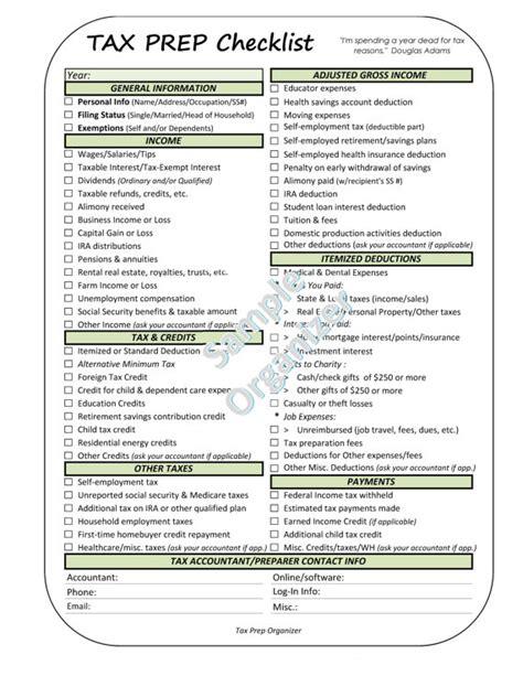 printable tax organizer 2014 tax organizer worksheet resultinfos