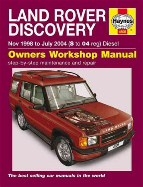 online auto repair manual 1996 land rover range rover electronic throttle control land rover discovery td5 diesel series 2 1998 2004 sagin workshop car manuals repair books