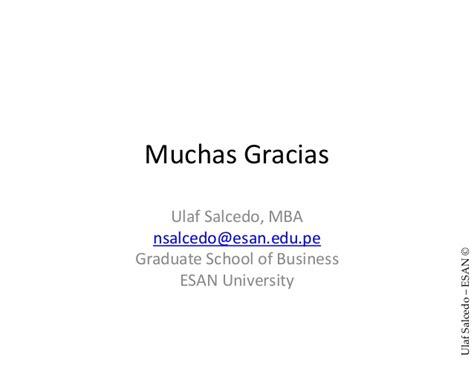 Mba Esan Precio by Ulaf Salcedo 2014 Peru Pais De Inversiones 39pp Esan
