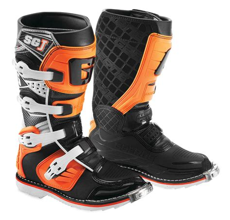 off road motorcycle boots gaerne youth boys sg j mx off road motocross boots ebay