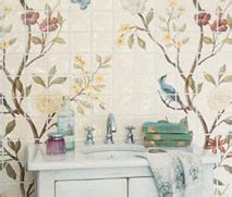 fired earth wallpaper uk lovely things wallpaper style chinoiserie tiles from
