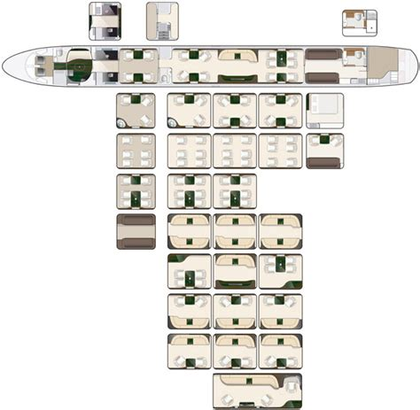 4 Bedroom Cabin Plans lineage 1000e corporate aircraft cabin configuration