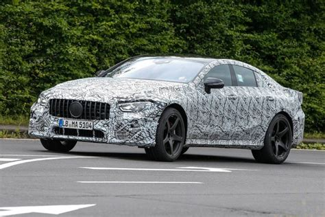 new of the four door mercedes amg gt surface