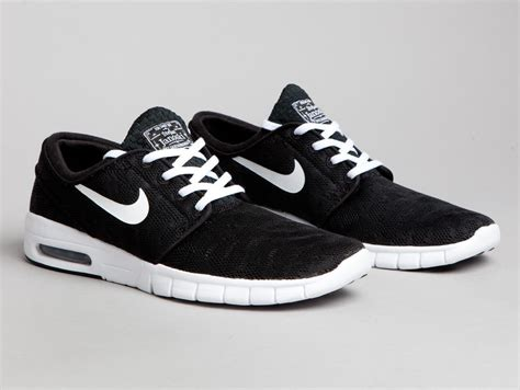Nike Stefan Jonski Black nike sb stefan janoski max black and white