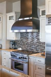 copper and stainless steel kitchen hammered copper range with stainless steel accent