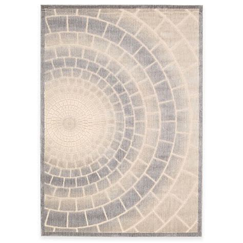 mosaic rug tile kenneth cole reaction home mosaic tile area rug in light multicolor bed bath beyond