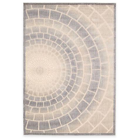mosaic rug tile kenneth cole reaction home mosaic tile area rug in light multicolor bed bath beyond
