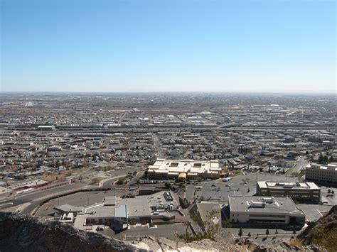 El Patio Tx by El Paso Tx A Bird S Eye View Of U S Border At El Paso
