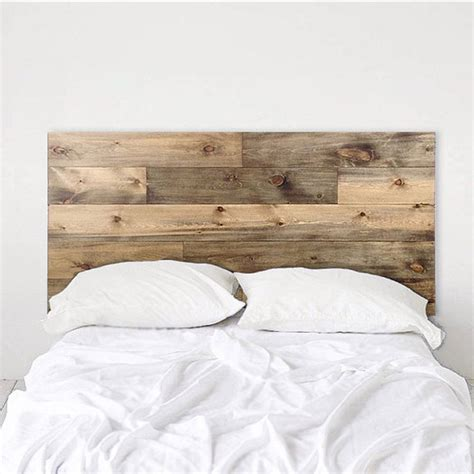 headboards made to order buy custom made rustic headboard natural wood planks