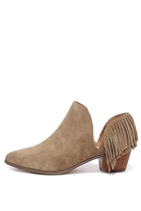 report footwear ignatious fringe bootie from san diego by