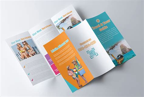 48 travel brochure templates free sle exle